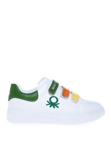 Benetton Benetton BN-30021 Beyaz-Yesil Erkek Yürüyüş Ayakkabısı Renkli